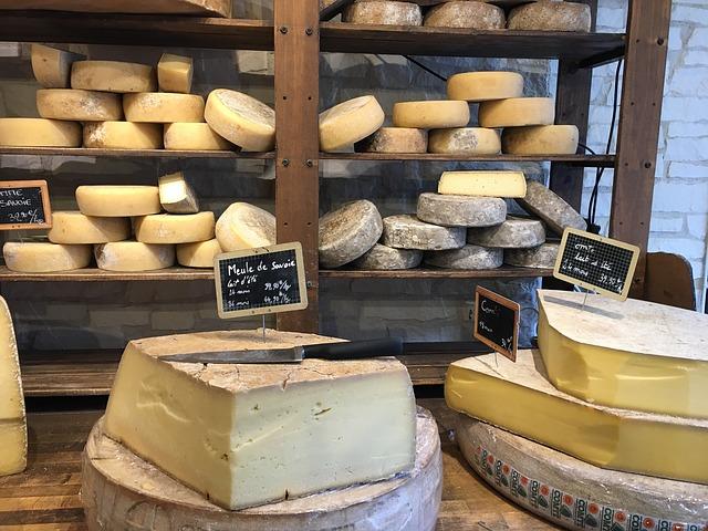 bochníky sýrů