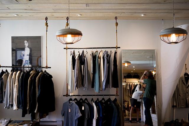 pánský obchod s oblečením