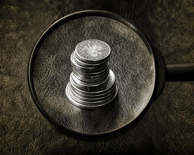 mince pod lupou